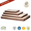 New Design Cheap Eco-Friendly Wholesale Rectangle dog bed filling