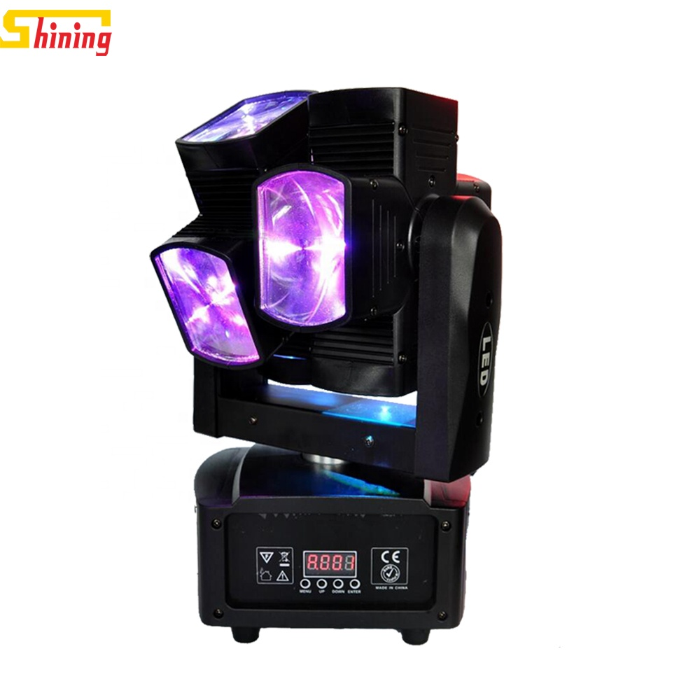 Disco dj double wheel 8x10w rgbw 4in1 full color dmx led <strong>beam</strong> moving head