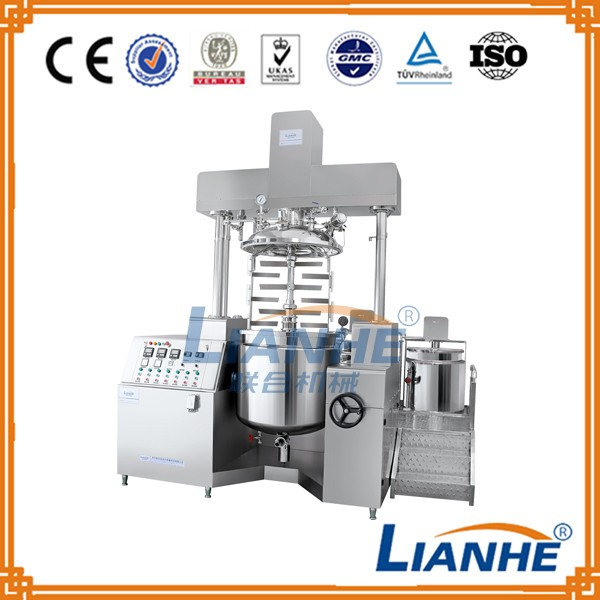 Emulsion emulsifier, chemical machinery equipment, vacuum homogenizing emulsifier machine