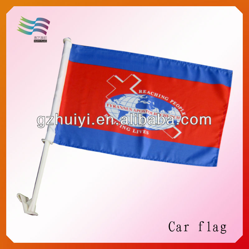 Custom Car Magnetic Base Flag