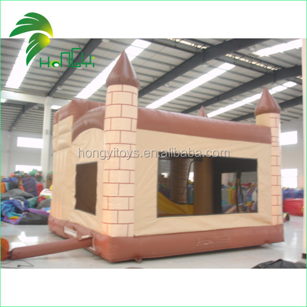 Amazing Vivid Castle Design Interesting Commercial Large Inflatable Water Slides