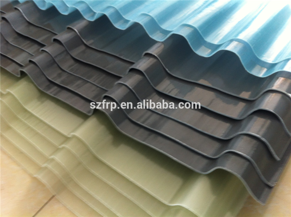 Frp Roof Panel Clear Plastic Roofing Material Translucent Fiberglass Roofing Sheet