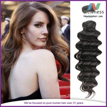 Free Sample 24 Inch Remy Human Hair Unprocessed European Hair Weaving Deep Wave