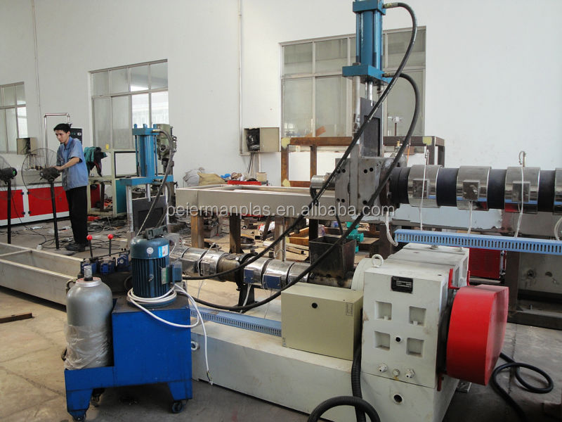 CE/SGS approved 300KG/HOUR waste plastic granulating line