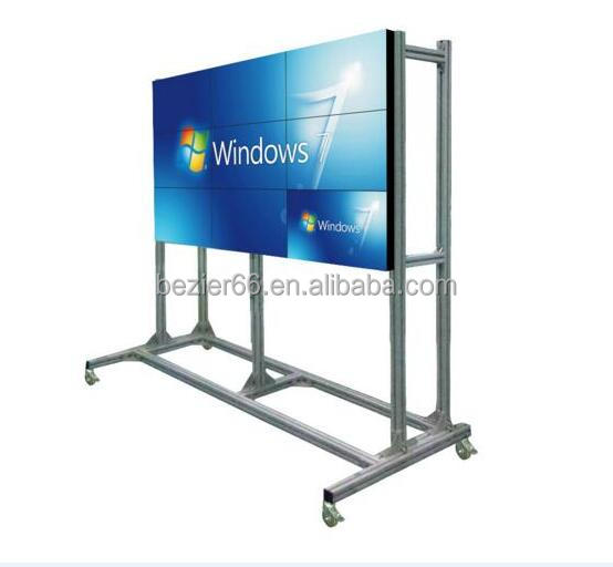 2016 best seller High tech 46 inch 5.5mm seamless lcd splicing video display wall 3x3