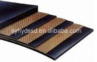 polyester nylon fabric coal mine rubber conveyor belt
