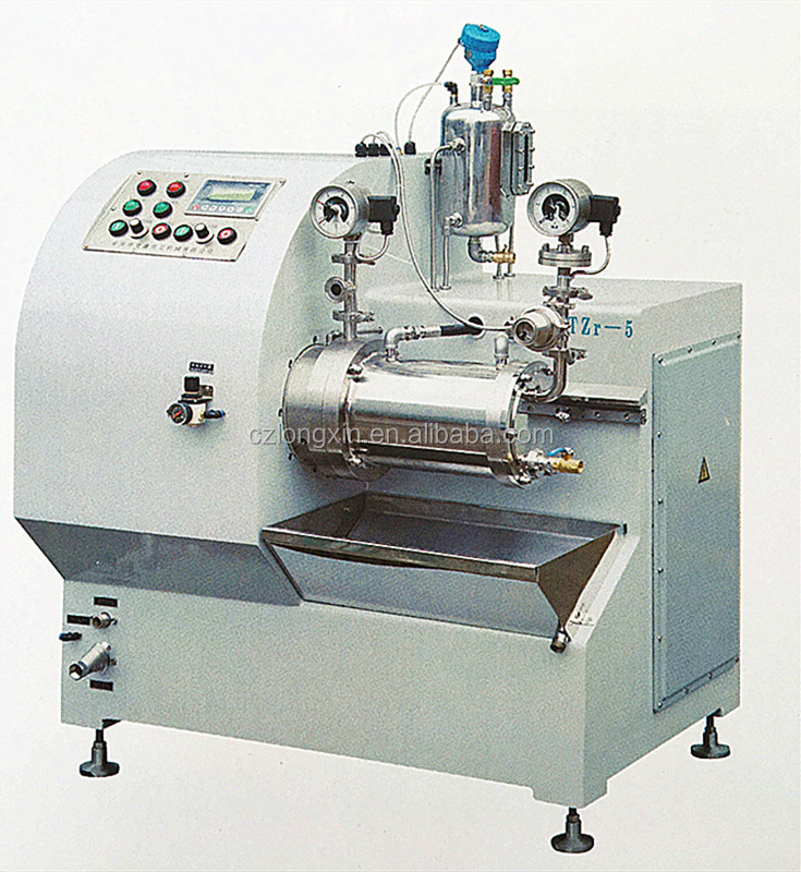Longxin Professional Lab Turbo Superfine Nano Sand Mill for Digital Consumption Material Grinding (WST-5)