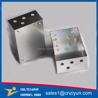 Laser cutting aluminum box from china supplier