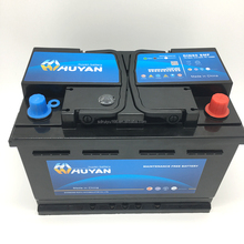 TOP quality High Capacity DIN80 Auto Starter Battery with competitive price