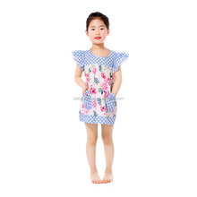 2017 baby dress frock design for baby girl party dresses