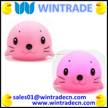 Cute lovely sea lion pvc plastic bath toy