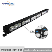 Latest modular design led light bar for atv offroad truck suv utv 4x4 off-road atvs easy for distributor's after-sales service
