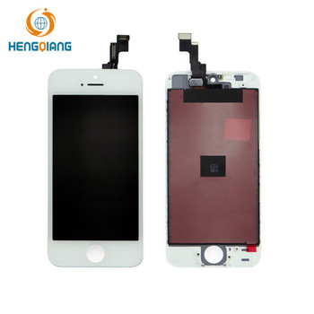 Black/ White Replacement LCD Touch Screen Digitizer Glass Assembly for iPhone 5s/5c/5