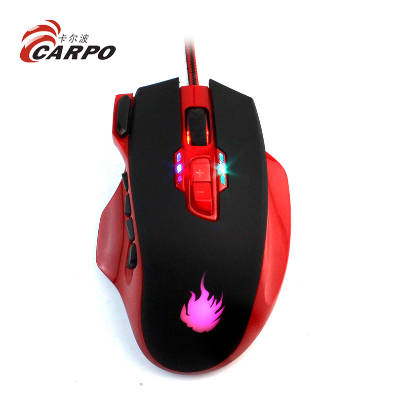 cool design computer luminous gaming mice mouse gaming