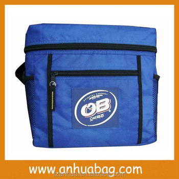 Top grade latest blue fitness cooler lunch bag