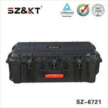 Hard ABS plastic tool case for precision instruments with Wheels