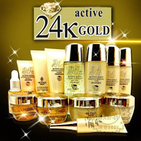 Liceko 24K Active Gold Skin Whitening & Nutritious Set Skin Care Product