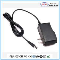 US plug 12V power adapter DC12V 1000mA adapter