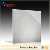 Chinese Factories Glitter Glossy Beige And Gray Ceramic Floor Vitrified Tiles