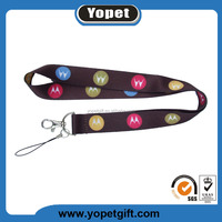 Personalized cheap custom printed polyester sublimation lanyard