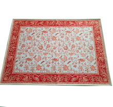 cheap quality printed chenille rugs