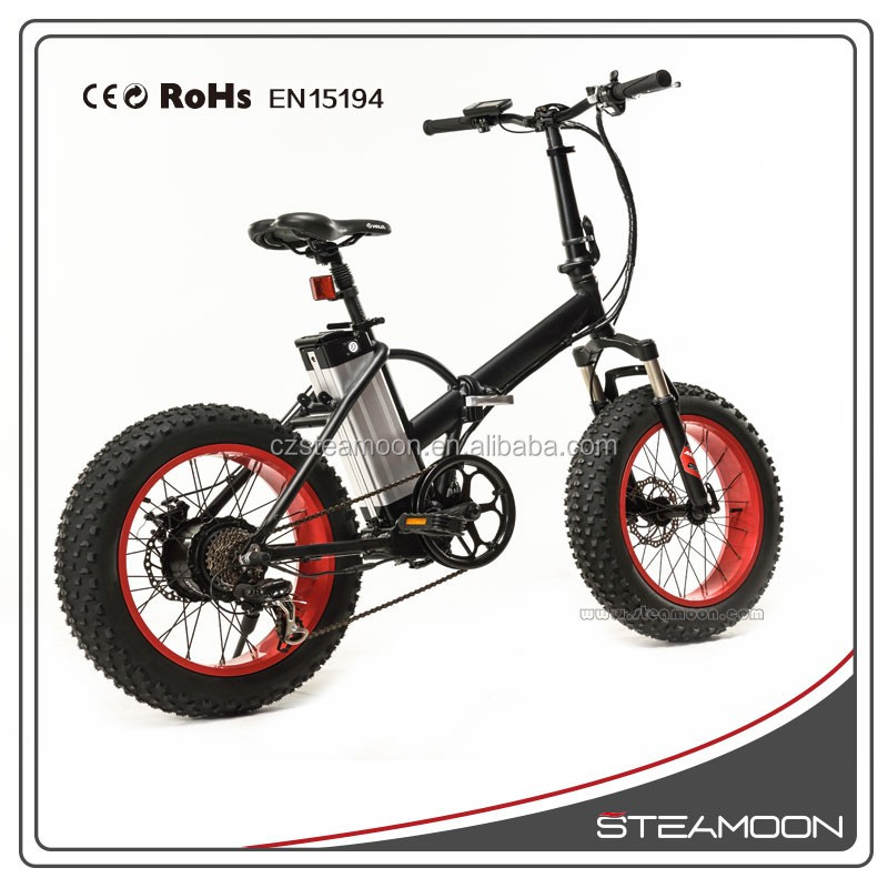Youth mini folding electric bike with 36V 10.4Ah lithium battery Brushless Motor and 30km/h Max