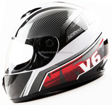ECE and DOT approved custom full face motorcycle helmets for sale