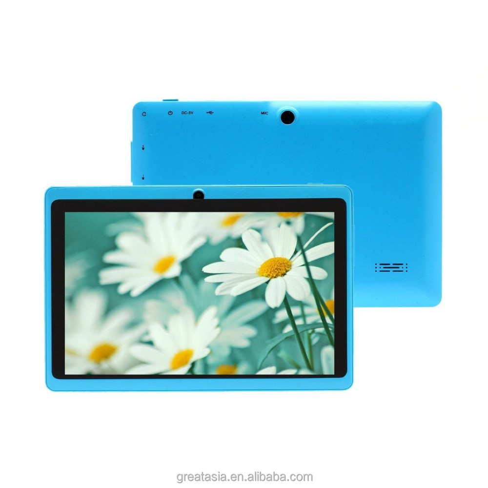 7 inch Android Tablet PC 4.2 Jelly Bean OS Dual Core Allwinner A23 CPU 5 Point Capacitive Touch Screen 8GB Storage
