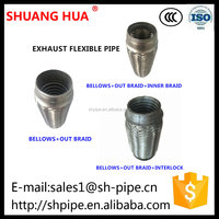 2 inch exhaust tube muffler for automobile
