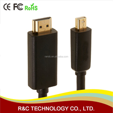 China Factory Mini DP to HDMI Cable 1080P