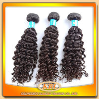 Wholesale virgin 100% brazilian deep tight remy curly hair