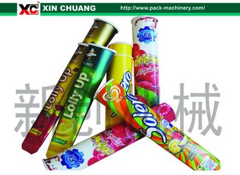 New package style for ice cream Calippo paper cup