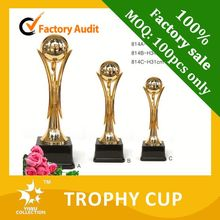 metal animal cups and trophies,classic custom trophy figures,beautiful custom trophy figures