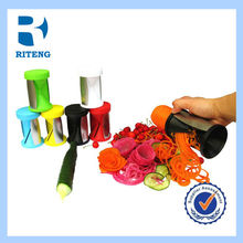 hot sale factory directly sell plastic tri blade Vegetable Spiral Slicer