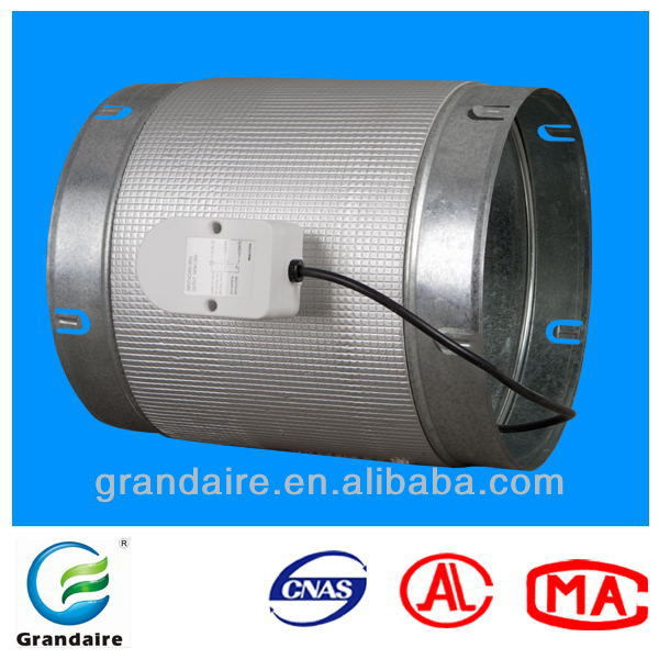 Air conditioning air flow control damper