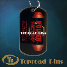 Classical fashion men dog tag product with quality Metal Business Card Dog Tags