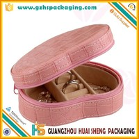 heart-shaped leather hinged cardboard music boxes for gift decorative