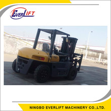 FD50T 5 Ton 3m 5m 6m 3 stage mast China Diesel Forklift