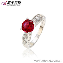 13025-xuping diamond cock rings fancy gold indian wedding ring design