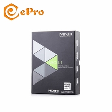 MINIX NEO U1 Android TV Box Amlogic S905 Quad Core 2 г/16 г комплект Топ и box Мини ПК