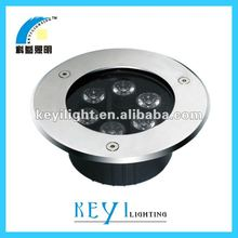 IP65 6* 1w high power stainless steel spot light led underground