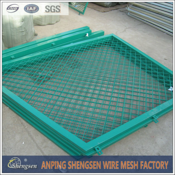 wire mesh fencing dog kennel