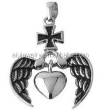 316 surgical creed stainless steel jewelry charm