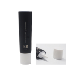 hua xin factory direct cosmetic ABL material black 20g bb cream tube packaging