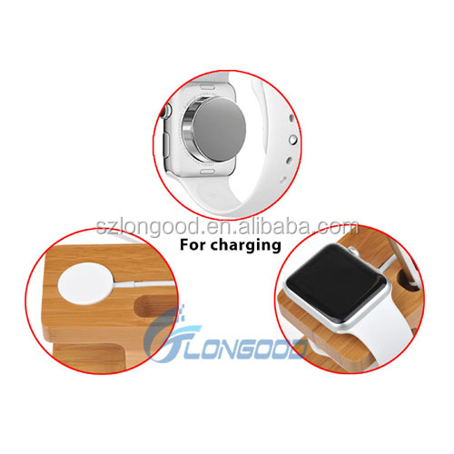 2017 NEW design 2 in 1 wireless phone charging dock station for multiple devices