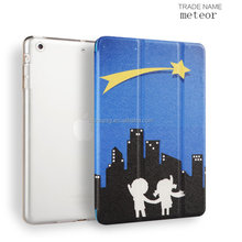 3 in 1 color printing Smart Flip Case for iPad Mini, New Design Folio Case for iPad Mini123