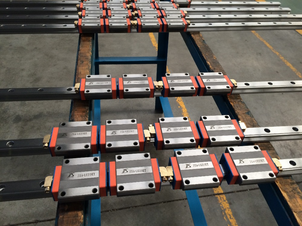 Linear guiderail with smooth operation Linear Guide, linear guideway, linear rail