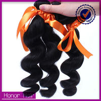 Professional producer sale dye any color loose weave natural human hair extention