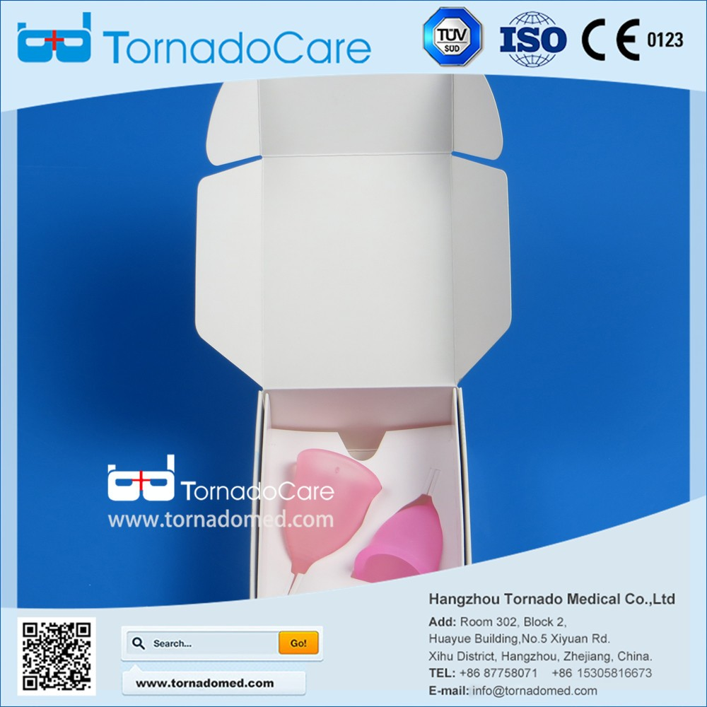 Consumables recycable lady cup period with great price