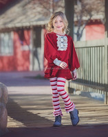New fashion 2016 cute baby fall persnickety children clothing set